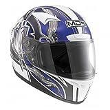 AGV Casco moto M13 MDS E2221, Multicolore(Ronin Bianco/Gun...