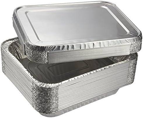 Juvale Aluminum Foil Pans - 20-Piece Hal