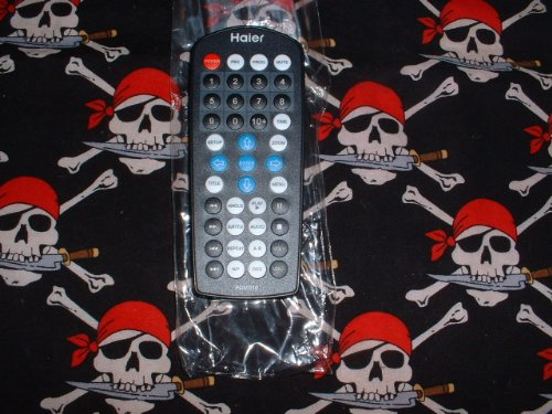 Haier LCD TV/DVD Combo Remote control TV-5620-50 Supplied with models: PDVD10 PDVD10BK PDVD10BL PDVD10S PDVD10W