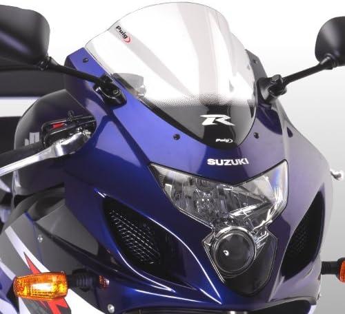 Racingscheibe f/ür Suzuki f/ür Suzuki GSX-R 600//750 04-05 klar Puig 1655w