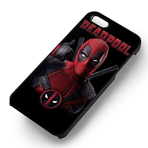 Deadpool Thumb Up pour Coque Iphone 6 et Coque Iphone 6s Case (Noir Boîtier en plastique dur) S9H6WW