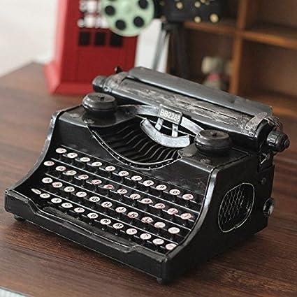 wzw Art Vintage máquina de escribir vintage hechos a la mano los ornamentos artesanía estaño antigua