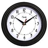 Equity by La Crosse 25013 Reloj Negro de 8 Pulgadas