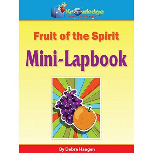 Fruit of the Spirit Mini-Lapbook - PRINTED pdf