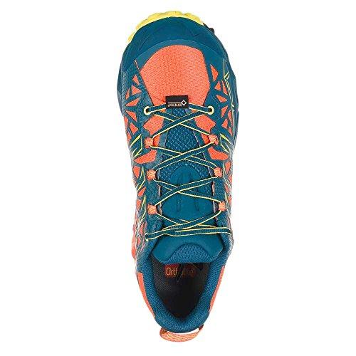 La Sportiva Mutant Scarpe Da Corsa Da Donna - Ss18 Akyra Gtx Lava / Ocean Talla: 42