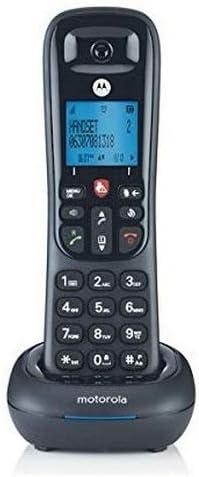 Motorola CD4001 - Teléfono Dect inalámbrico (50 contactos, Manos Libres, Función Alarma) Color Negro: Motorola: Amazon.es: Electrónica