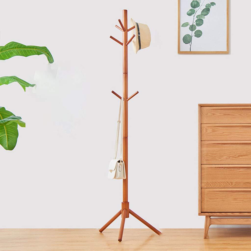 Amazon.com: Percha de madera para colgar abrigos, suelo ...