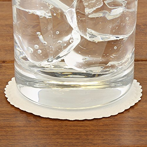Royal Plain White Catch All Coaster 1-Color, Case of 10,000 by Royal (Image #1)