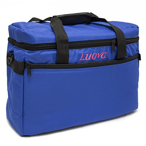 Luova 18″ Sewing Machine Tote in Cobalt