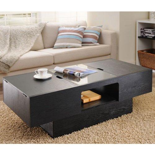 247SHOPATHOME YNJ-906-1 Coffee-Tables, Black