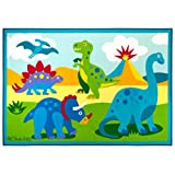 Olive Kids Dinosaur Land 39x58 Rug