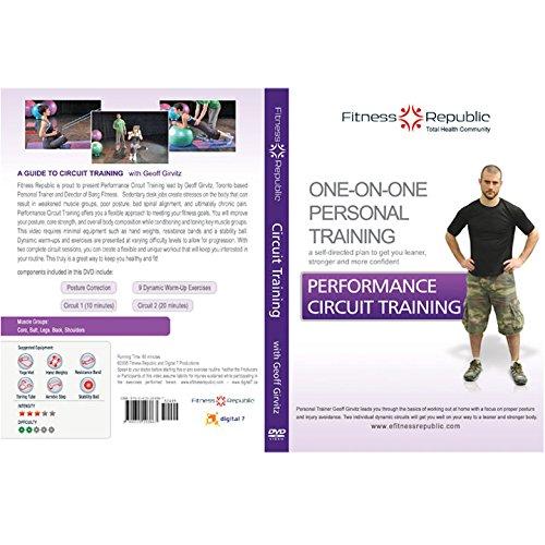 Fitness Republic Performance Circuit Training DVD (Fitness DVD)
