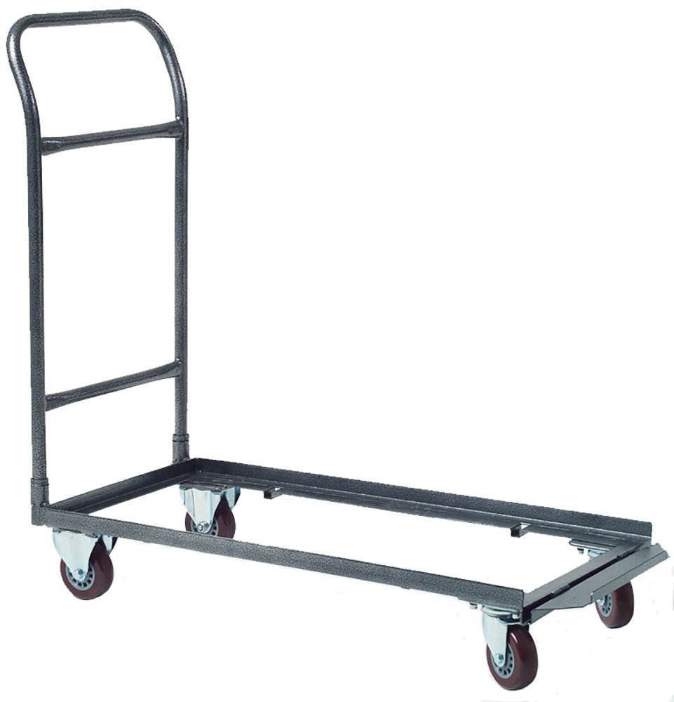 Heavy Duty Multi-function Folding Chair Storage and Transport Dolly for Plastic, Resin, and Wood Folding Chairs