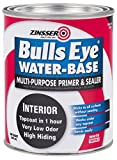 zinser sealer - Rust-Oleum 2244 White Zinsser 02241 Bulls Eye Primer Sealer, 1 quart Can (Pack of 6)