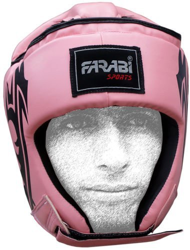 Farabi Hear Guard Boxing MMA Muay Thai Workout Practice, Full Face Headguard Head Protector headgear Boxing Helmet Martial Arts Helmet Kickboxing jiu jitsu karate (Small)