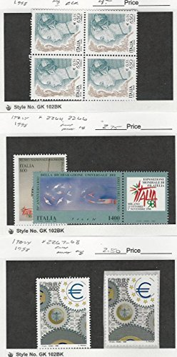 Italy, Postage Stamp, 2230 Block, 2264, 2266, 2267-2268 Mint NH, 1998 ()