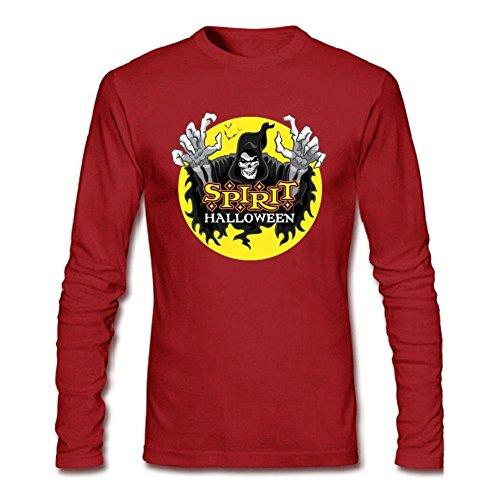 Men's Halloween Long Sleeve T-Shirt -