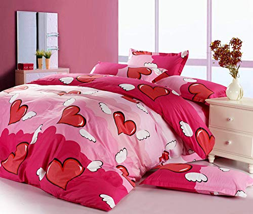 Olwen Shop Bedding Sets - Cottom Cartoon chilren Textiles 4pcs Bedding Sets Duvet Cover Set Bed Sheet Pillowcase 1 PCs