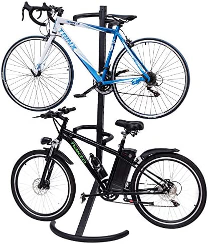 Smartweb Sturdy bicycle stand double two-legged stand bicycle stand. double stand
