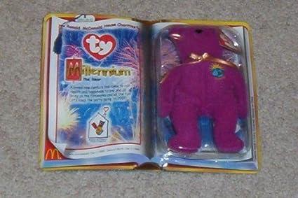 Amazon.com  1 X TY McDonald s Teenie Beanie - MILLENNIUM the Bear ... b21477bcbe0