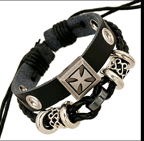 Halloween Fashion Jewelry Leather bracelet religious gifts crafts New promotional hot models (Halloween Religious Crafts)