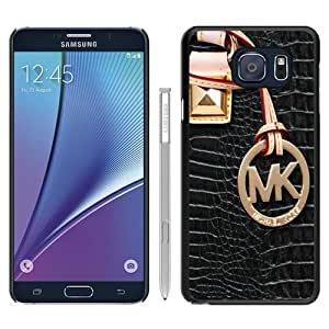 Popular M-ichael K-ors Samsung Galaxy Note 5 Case ,Beautiful And Durable Designed Fashion Style 110 Black Phone Case For Samsung Note 5 Cover Case High Quality Designed Phone Case