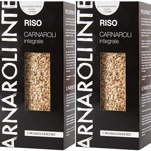 Brown Imported - Aged Gourmet Brown Carnaroli Risotto Rice - Real Aged Brown Carnaroli Organic - Produced and Imported From Italy - by Serendipy Life (4.6 Lb) (2 Pack)