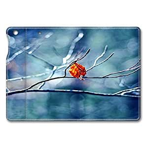 Before Winter Begins Standing Leather Smart Cover Case Exclusive for iPad Mini Screen