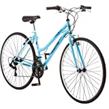 Roadmaster Adventures Womens Hybrid Bike, 700c , Light Blue/R5727WM