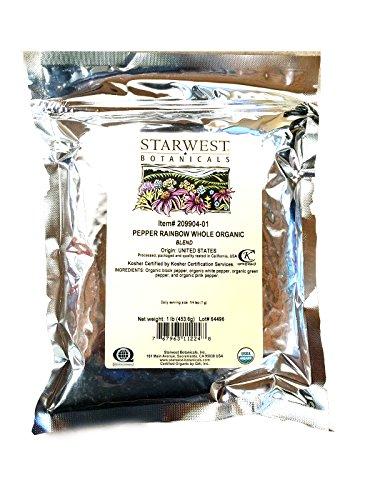 Organic Rainbow Peppercorn Blend by Starwest Botanicals