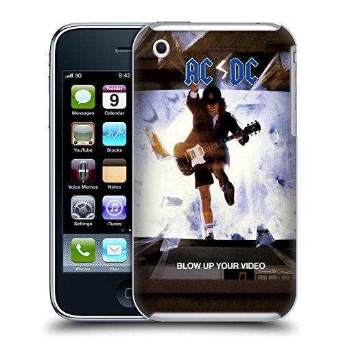 Officiel AC/DC ACDC Faites Sauter Votre Vidéo Couverture D'album Étui Coque D'Arrière Rigide Pour Apple iPhone 3G / 3GS