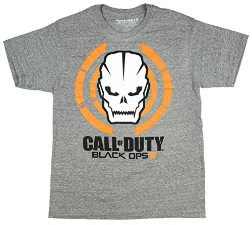 Call Of Duty: Black OPS III Skull Logo T-Shirt (X-Large)