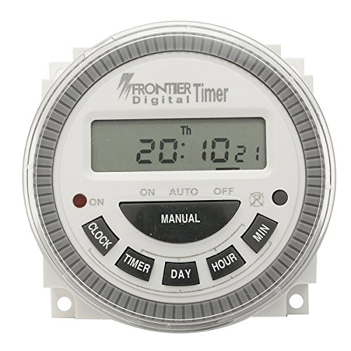 AC 220V-240V Digital LCD Power Programmable Timer Electronic Time Switch (Decora Bath Fan Timer Switch compare prices)