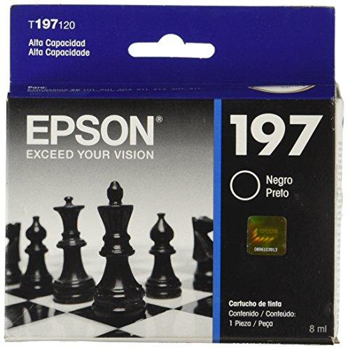 Epson T197120  Cartucho de Tinta Negro (Alta Capacidad)