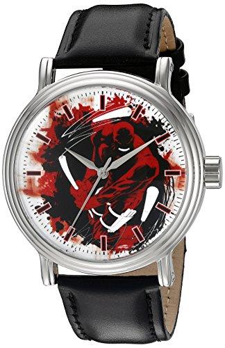 Marvel Daredevil Men's W002535 Daredevil Analog Display Analog Quartz Black Watch