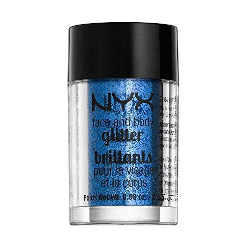 NYX Cosmetics Face & Body Glitter Blue