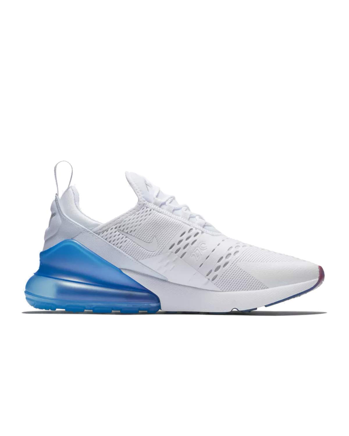 buy popular 1ace9 0e59b Galleon - Nike Mens Air Max 270 Running Shoes White Photo Blue Pure  Platinum AQ7982-100 Size 11