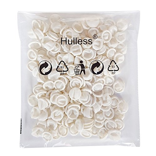 Hulless 200 pcs Disposable Latex Finger Cots, 4 Mil Thick, Anti-static Rubber Fingertips Protective Finger Gloves for Electronic Repair Painting Jewelry Cleaning Crafting Industrial Apply.