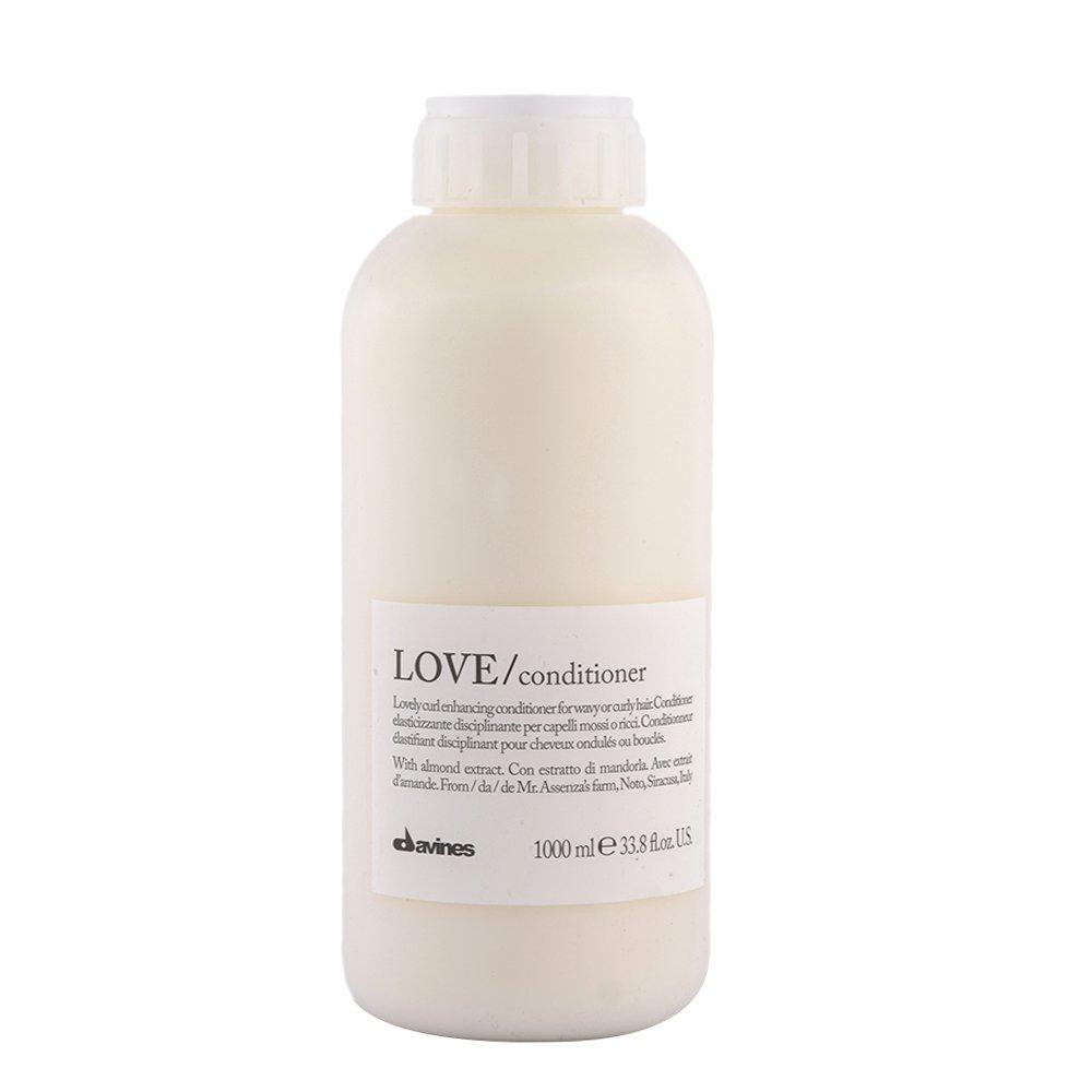 Davines Essential hair care Love curl Conditioner 1000ml - balsamo disciplinante