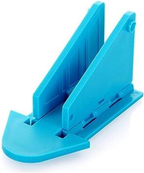 Tian Meic Tope de puerta Niños Seguridad for bebés Puerta corredera Armario de ventana Cerraduras (Color : Azul): Amazon.es: Bricolaje y herramientas