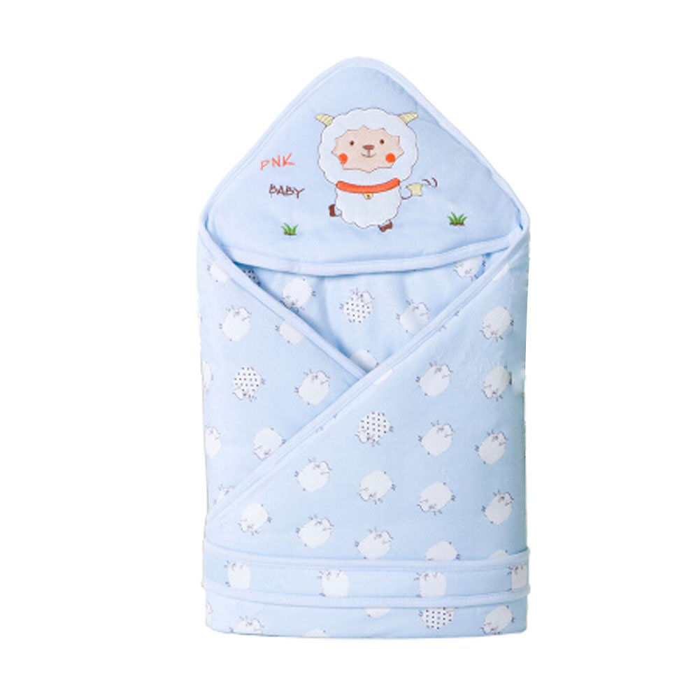 Winter/Fall Thick Cotton Swaddle Baby Adjustable SleepBag,B blue Blancho Bedding