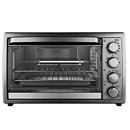 Black & Decker 9-Slice Rotisserie Convection Countertop Oven