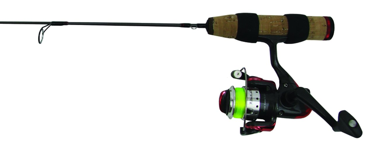 Clam 8364 Power Stick Light Action Rod and Reel Combo, 26-Inch