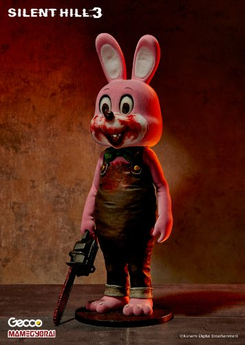 [Gecco Silent Hill 3: Robbie The Rabbit PVC Figure (Pink Version)] (Resident Evil 6 Ex Costumes)
