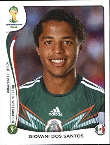 67ffe576456 2014 Panini FIFA World Cup Stickers #83 Giovani Dos Santos Mexico at  Amazon's Sports Collectibles Store