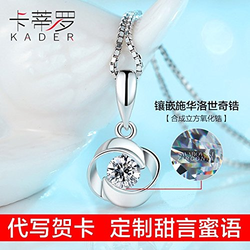 Generic Korean collar _medallion_ necklace Pendant women girl _models_ fashion fashion short _paragraph_ clavicle chain necklace Pendant neck chain _with_ jewelry students by Generic
