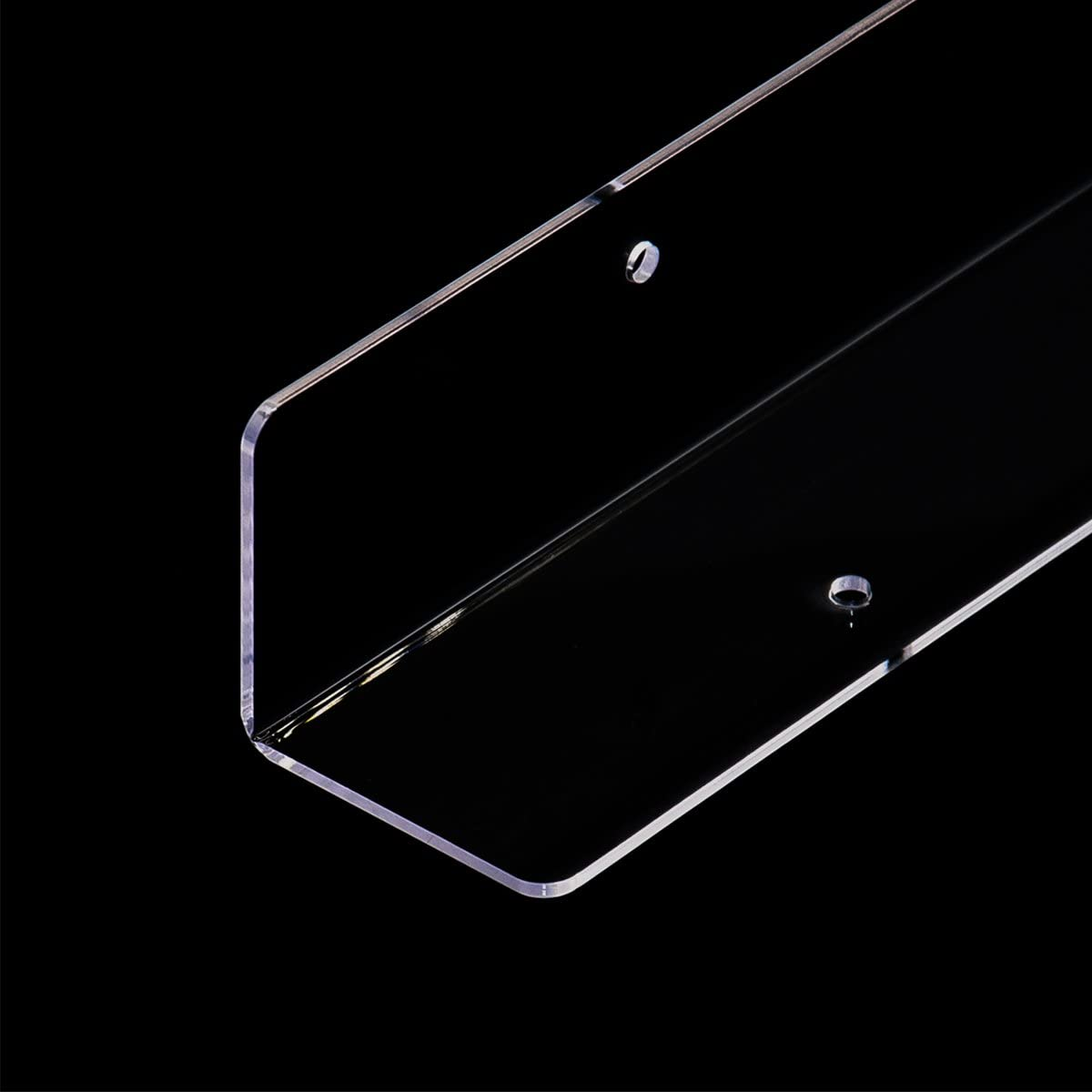 Combination of Life 100x5x5cm Baby Furniture Acrylic Clear Corner Wall Protector Safety Bumper Edge Guards with Fittings