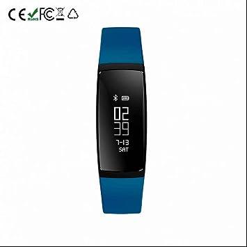 Montre Connectée Bluetooth Montre de sport Tensiomètre Tracker,Cardiofréquencemètres,du sommeil,Rappel Sédentaire