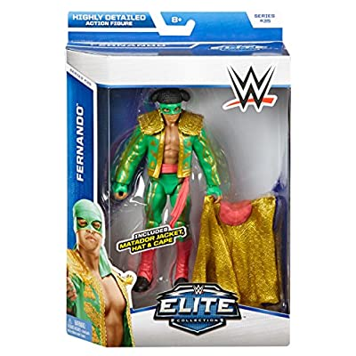 WWE Elite Collection Series #35 - Fernando (Los Matadores) Action Figure: Toys & Games