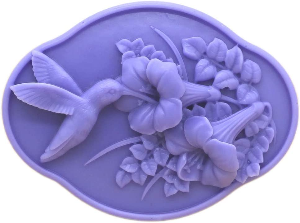 Silicone Soap Mold Mermaid DIY Craft Art Handmade Soap Candle Wax Mould 1